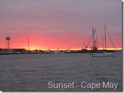 003 Sunset Cape May