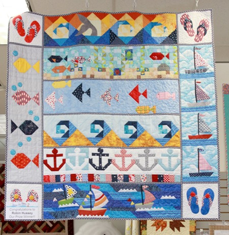 Row by Row H2O quilt