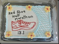 The Red Shoe RUN!