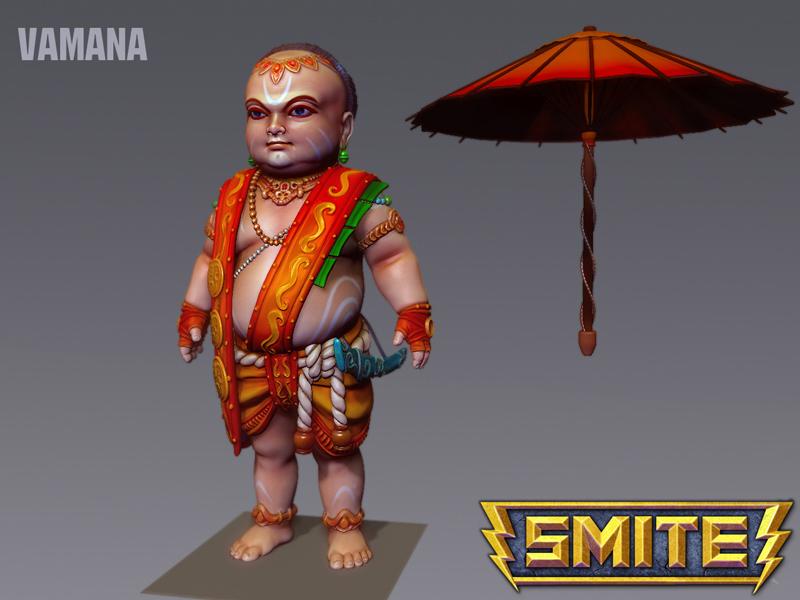 Chiêm ngưỡng tạo hình tướng trong MOBA SMITE - Ảnh 20