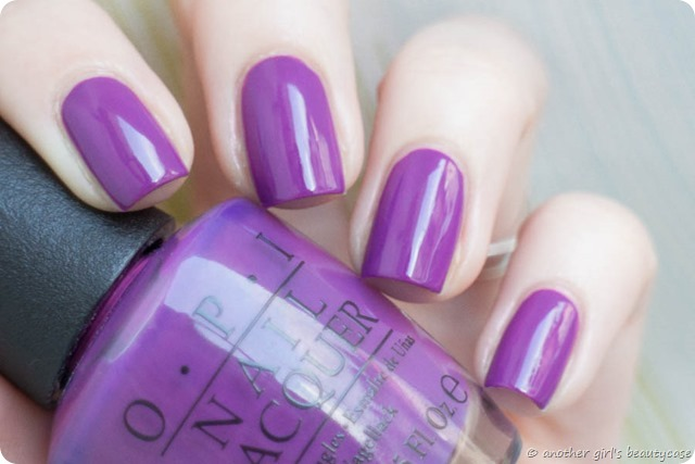 LFB Lila Volet Lolac OPI Bouquet of Violets Swatch Creme