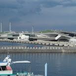 cruise ship terminal in Yokohama, Tokyo, Japan
