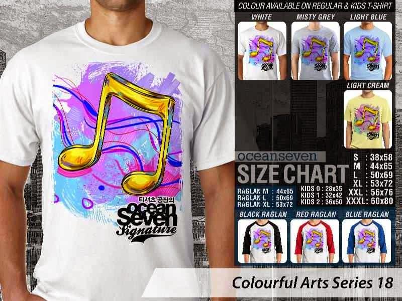 KAOS keren Colourful Arts Series 18 | KAOS Colourful Arts Series 18 distro ocean seven