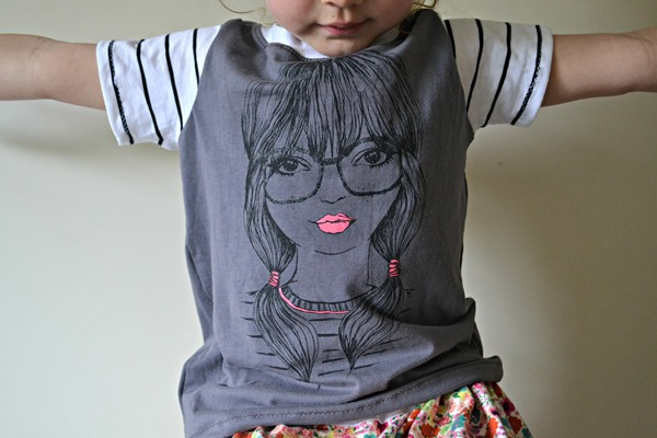 Isabelle's Upcycled Tee 4