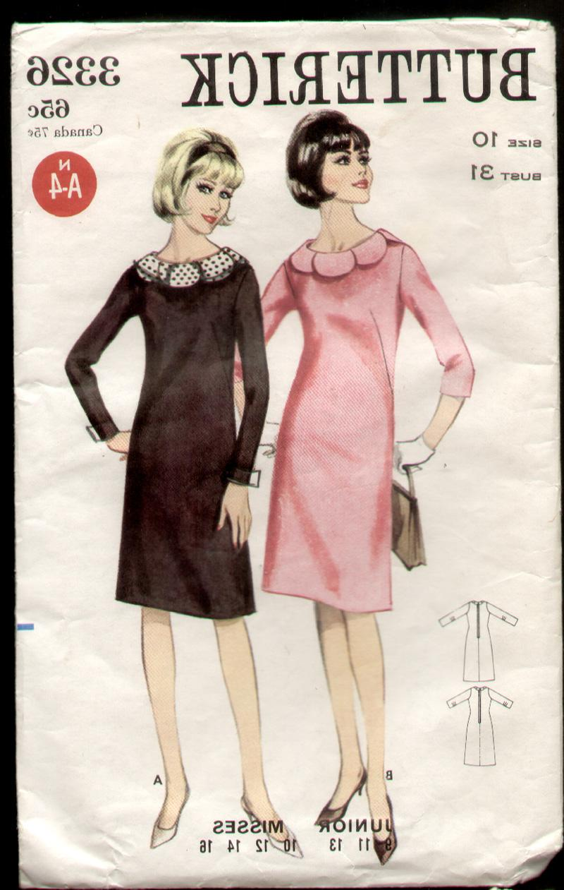 Description: Semi dress fitted