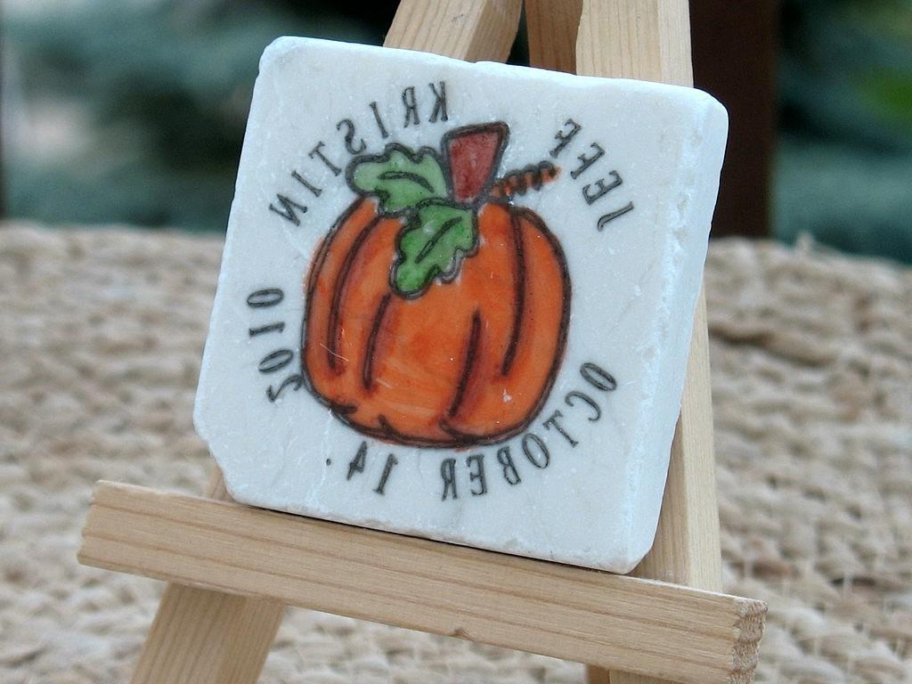 Fall Pumpkin Wedding Favor