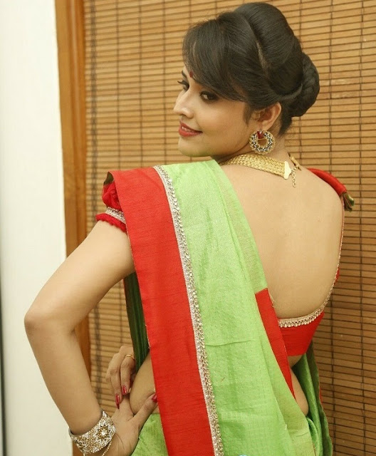 Anasuya blouse back