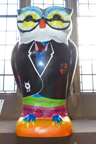 Owl Arty at st. Martins church