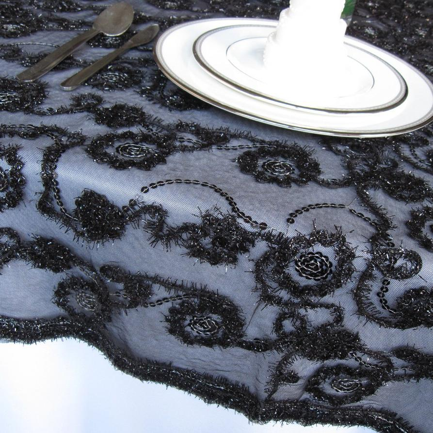 lace wedding table linen ideas