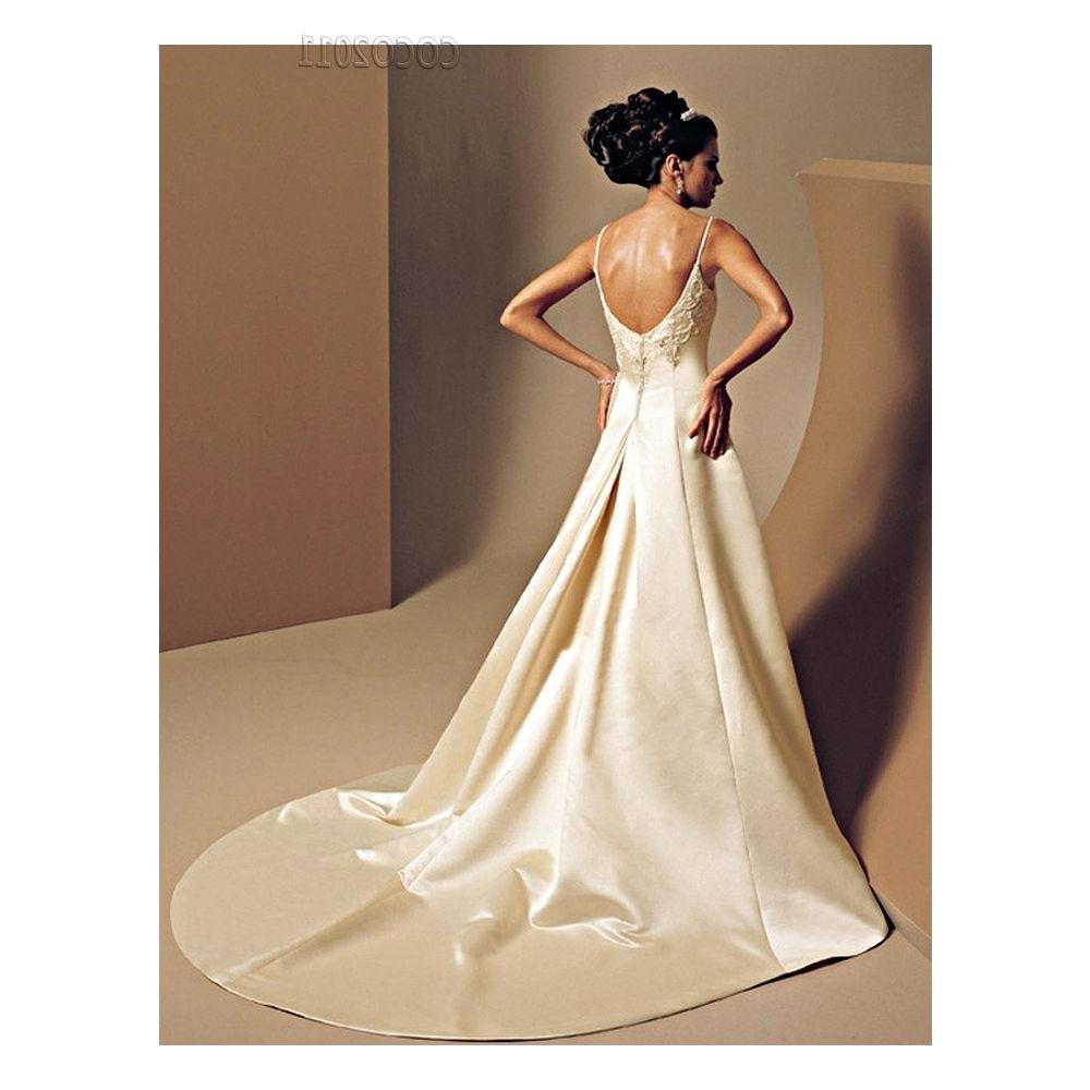 Low Back Wedding Dresses 6