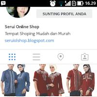 Serui Online Shop Juga Ada Di Instagram
