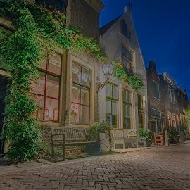 Brielle Netherlands by Henk Smit - City,  Street & Park  Street Scenes