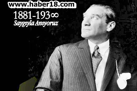 Atatürk'ün Vefatının 78. Yıl Dönümünde Çankırı'da Anıldı