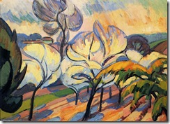 Andre-Lhote-Trees-in-Bloom