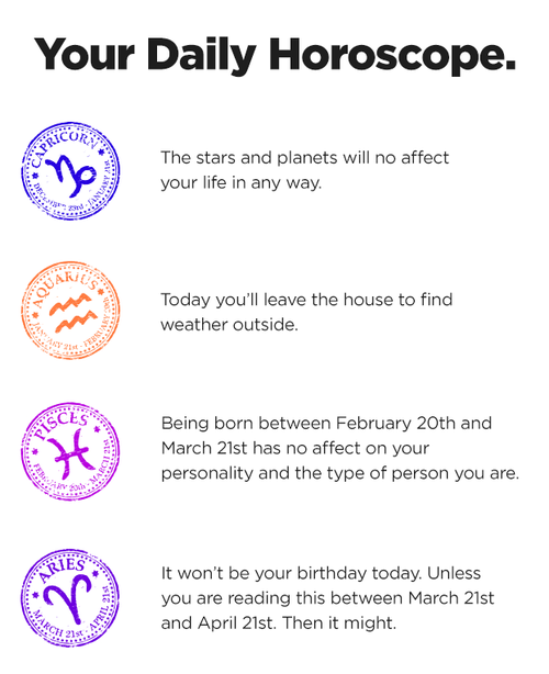 True Horoscopes