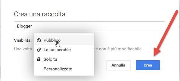 creare-raccolta-googleplus