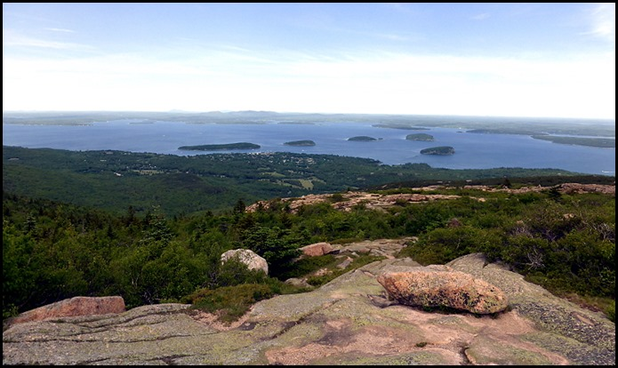 01b - Bar Harbor from Cadillac Mtn Summit