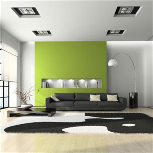 Design : Wohnzimmer In Grün Und Braun ~ Inspirierende Bilder Von ... Farbgestaltung Grn Braun