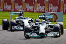 Hamilton still leads Rosberg for Mercedes