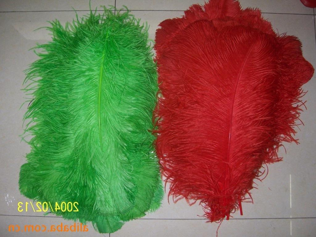 ostrich feathers wedding