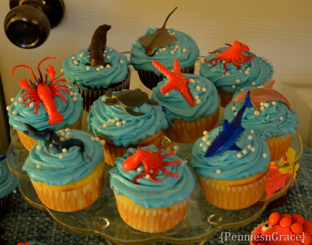 under water cupcakes