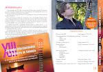 34: Concierto de guitarra de Anton Baranov (Rusia) Presentado por Dª Anna Bogdanova, licenciada en arquitectura, que dará la bienvenida a Anton Baranov en su lengua materna.