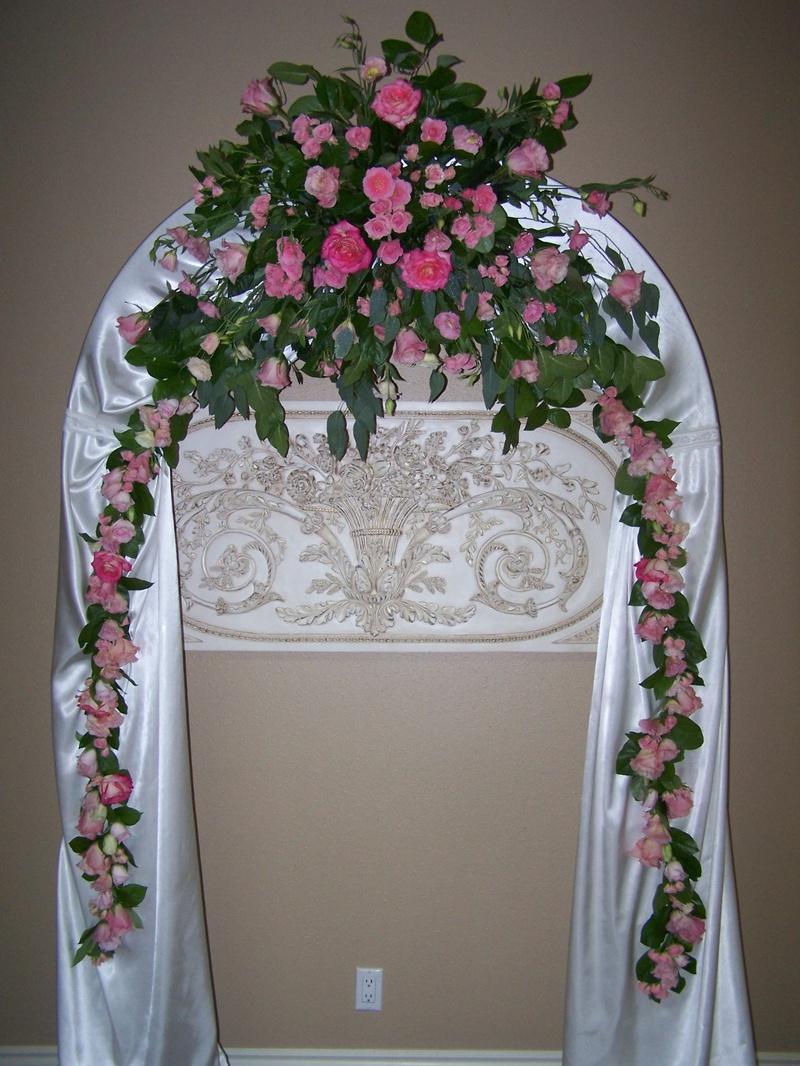 Ceremony arch piece.