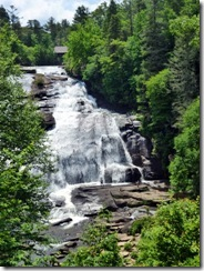 High Falls with the Covered Bridge at top