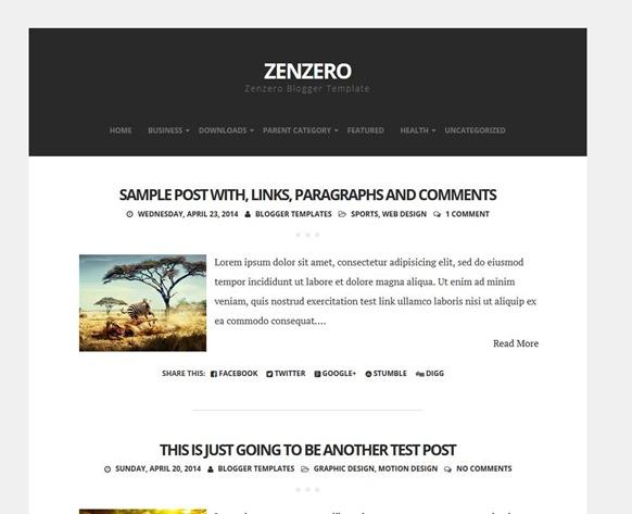 zenzero-template