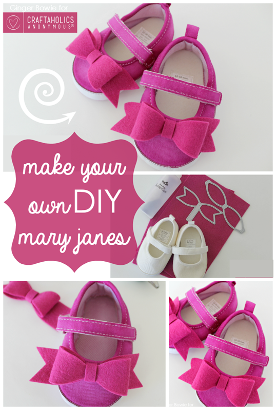 Make Your Own DIY Mary Janes