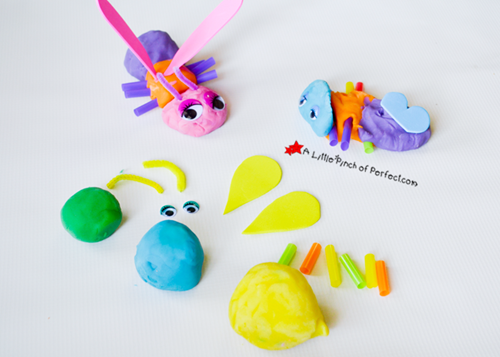 Playdough Insects