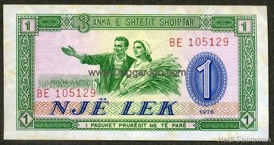Mata uang Lek