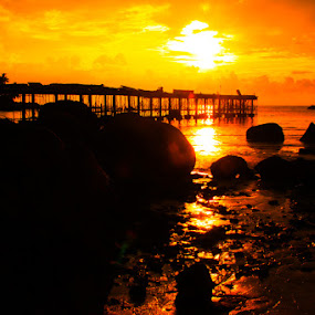 Side Parai Beach by Zlatan Dawamovic - Landscapes Sunsets & Sunrises