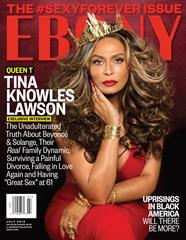 Tina Knowles Lawson Ebony Cover