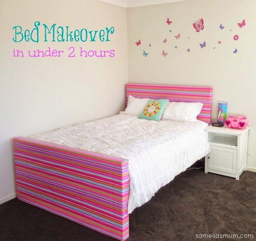 Bed Makeover in under 2 hours