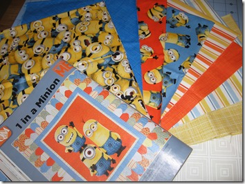 Canuck Quilter: It couldn't be avoided : minion quilt - Adamdwight.com