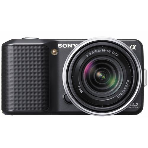 Цифровой фотоаппарат Sony NEX-3 + объектив 18-55mm KIT Black (NEX3KB...
