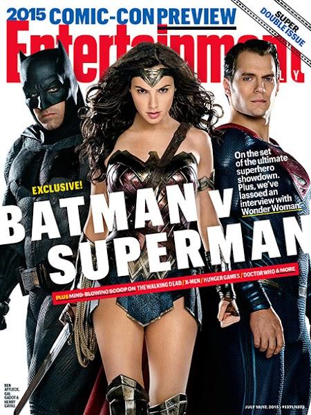 Foto de la trinidad de Batman v Superman