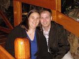 Natalie and Darin Before Dinner at Zazu - Quito