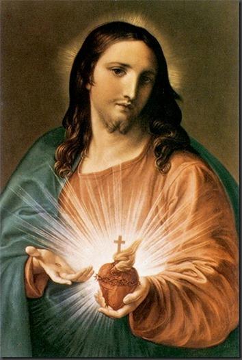 JESUS MANSO Y HUMILDE DE CORAZON