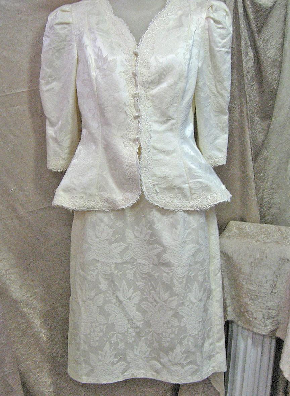 Vintage Wedding Suit Cashet by