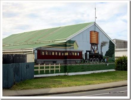 Gisborne Railway Mural