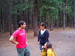 Fabio, Akela y Tic-Tac en un juego de roles