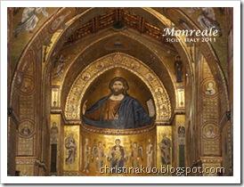 【Italy♦義大利】西西里*Monreale 蒙雷阿萊 - 金碧輝煌, 融合多種文化風格的 Monreale 主教堂