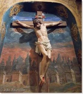 Crucificado de la iglesia de Santa Catalina - Cirauqui