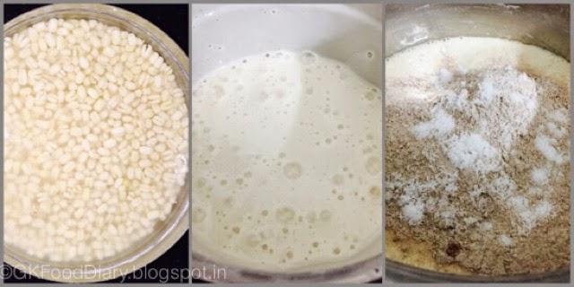 Fermented Ragi Dosa - Finger Millet Dosa with Urad dal (Keppai Dosa) 2