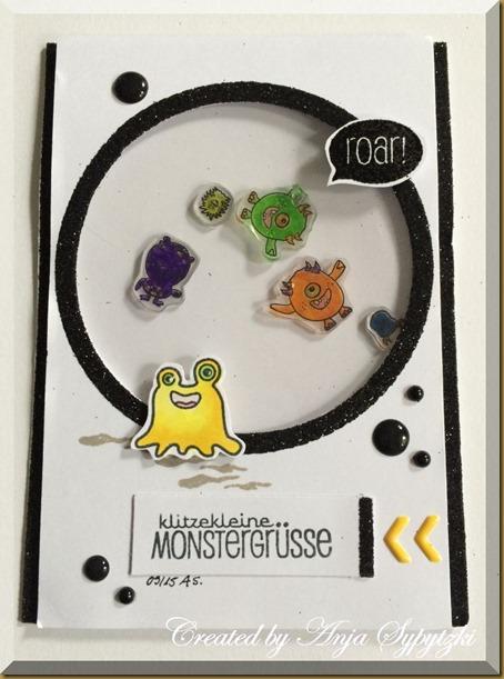 klitzekleine Monstergrüsse 1