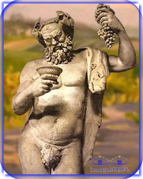 Dionizos Grecki Bóg wina