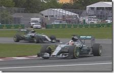 Lewis Hamilton vince il gran premio del Canada 2015