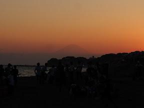 七里ガ浜と富士山と夏の思い出